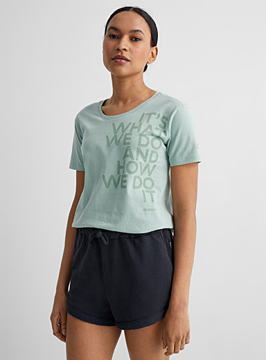 Le t-shirt message Aqua