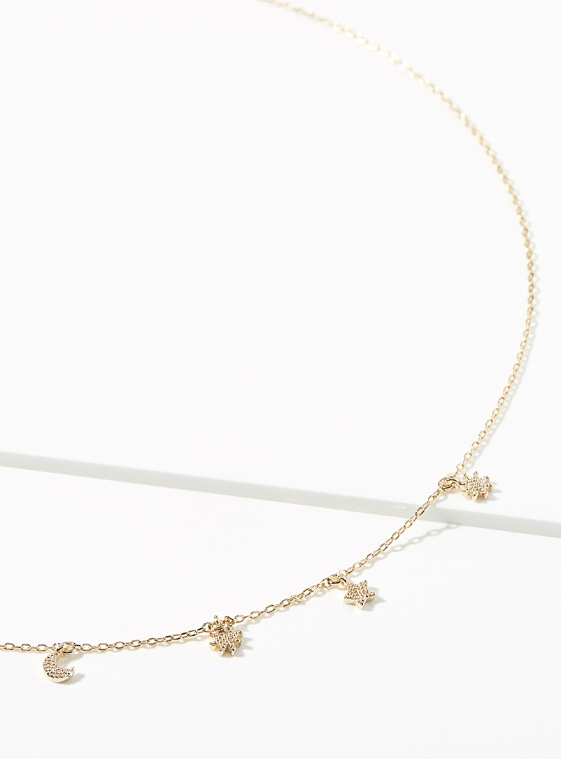 Simons Assorted Starry chain necklace for women