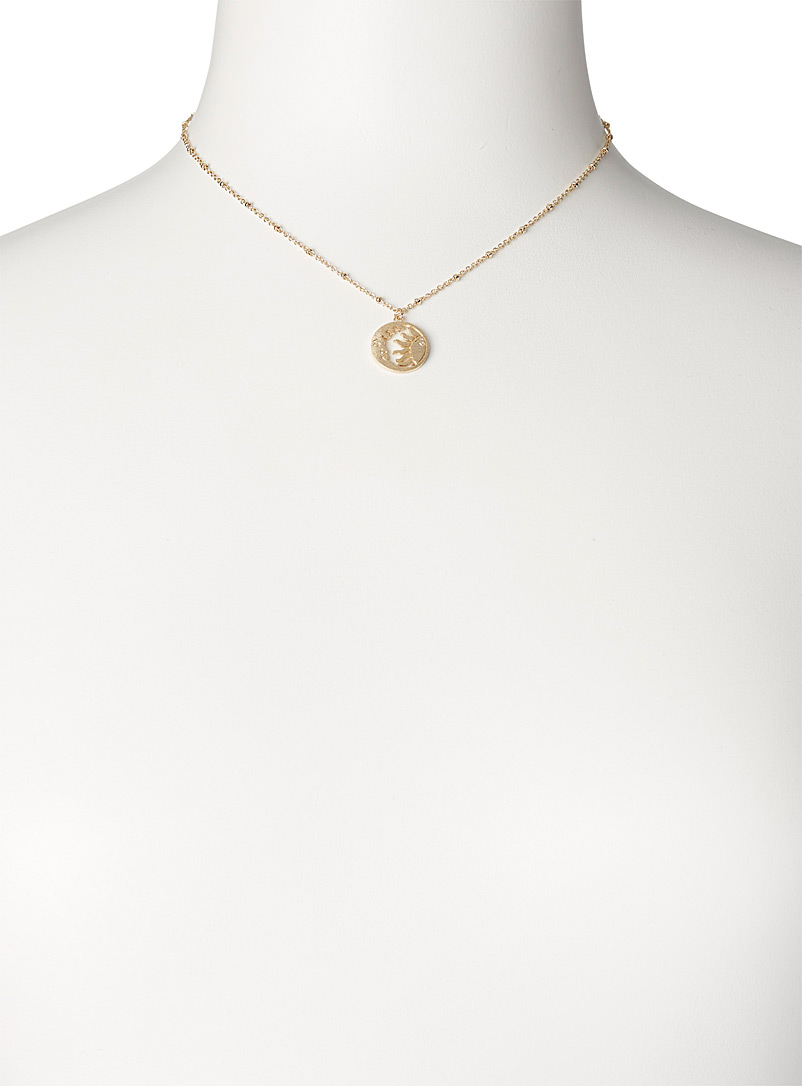 Simons Assorted Solar system pendant necklace for women