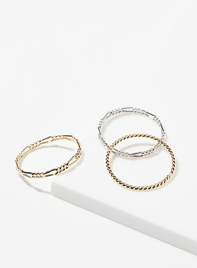 Mini chain rings  Set of 3