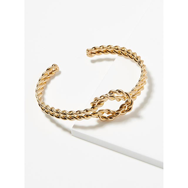 knotted-chain-cuff-bracelet
