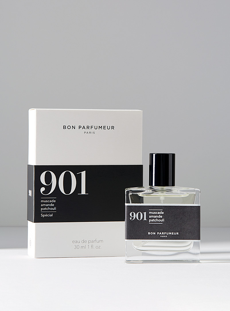 Bon Parfumeur Dark Grey 901 eau de parfum  Nutmeg, almond, patchouli for men