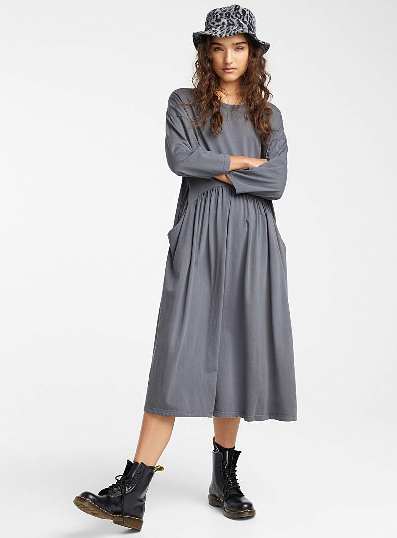 Relaxed loose maxi dress