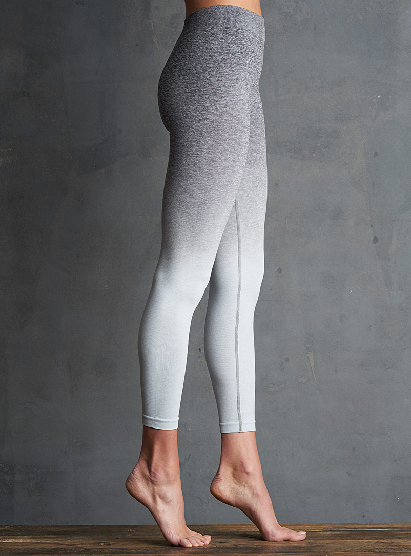 Lemon Assorted blue  Ombré legging for women
