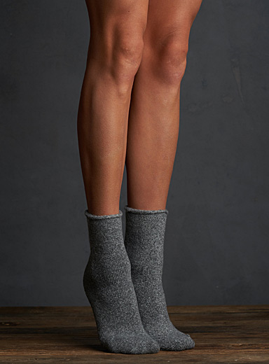 Ultra soft recycled ankle socks