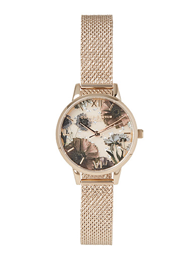Celestial flower watch