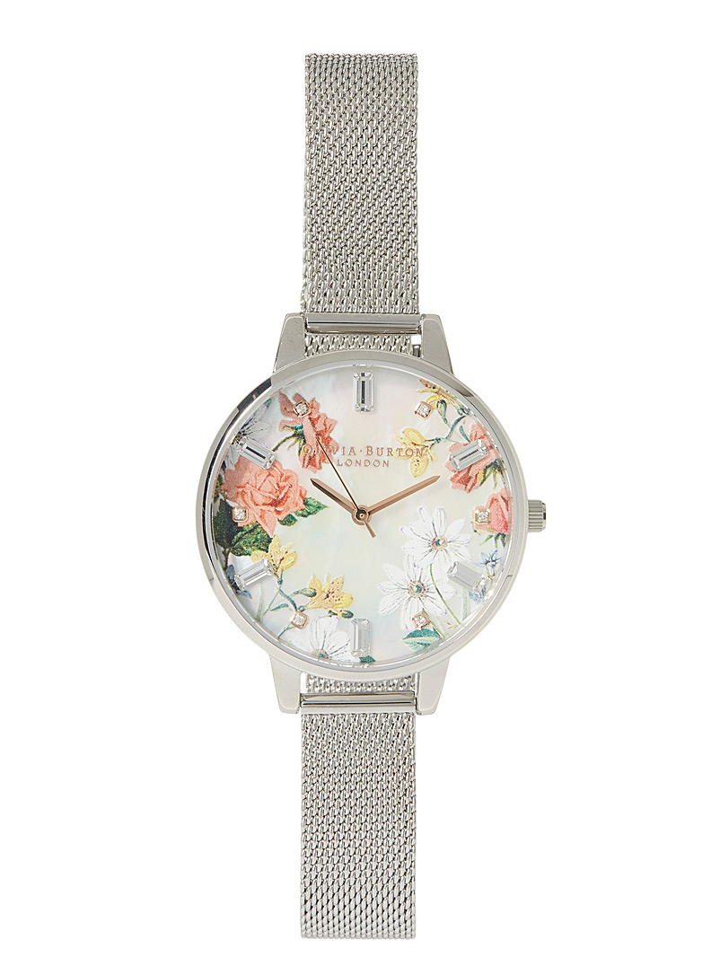 Swarovski flower watch