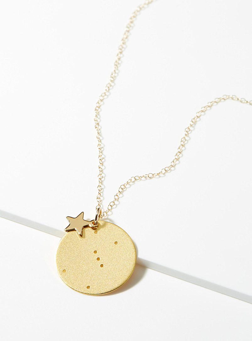 Virgo necklace - Necklaces - Gold