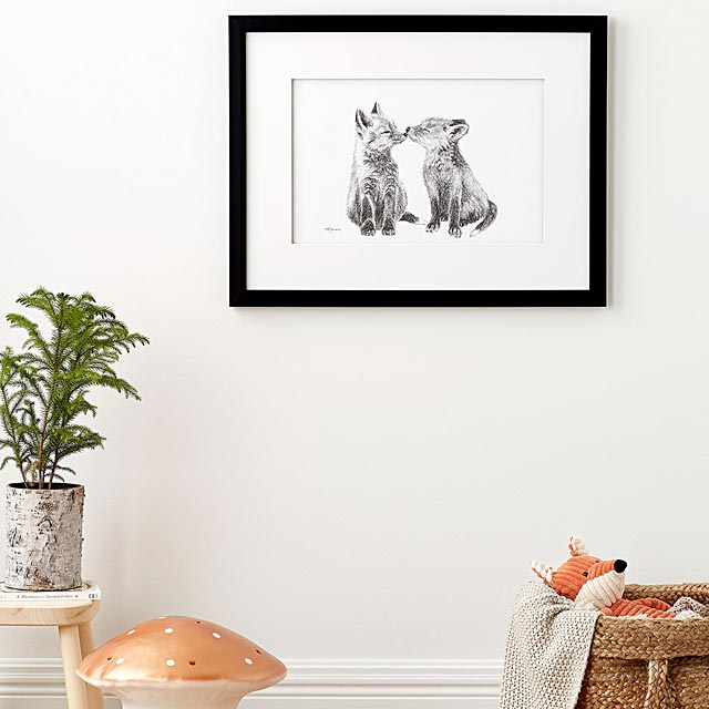 l-affiche-adorables-bebes-renards-2-formats-disponibles