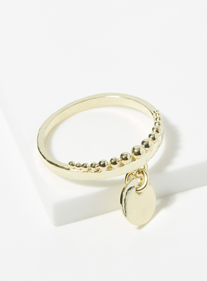 Ken & Jame Assorted Léa gold ring for women