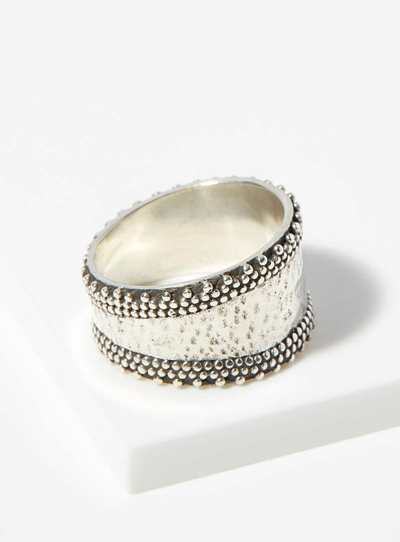 Ken & Jame Silver Romy silver ring for women