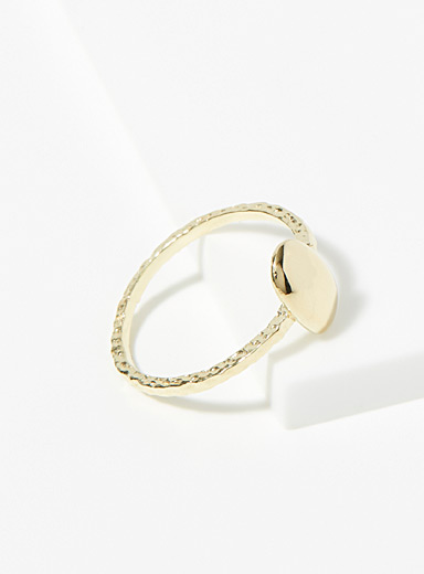 Flavie gold ring