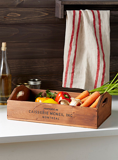 Caisserie McNeil Assorted Antique pine tasting board