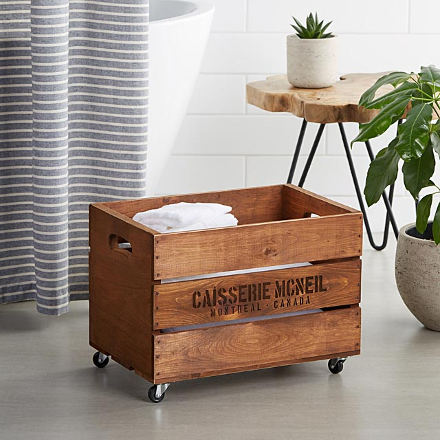 rustic-wooden-chest-on-wheels