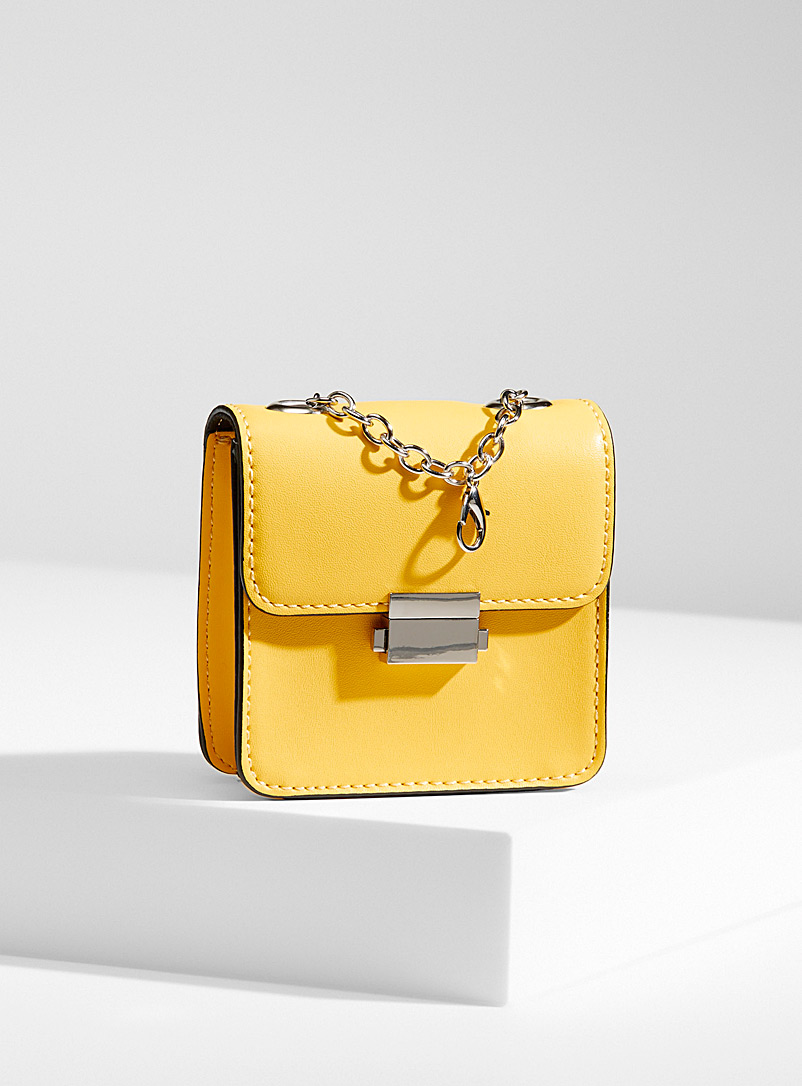 Who What Wear Yellow  Balia convertible bag for women