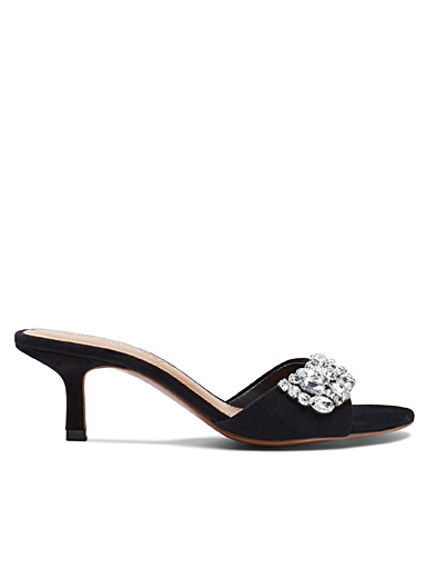 Black Paige heeled sandals