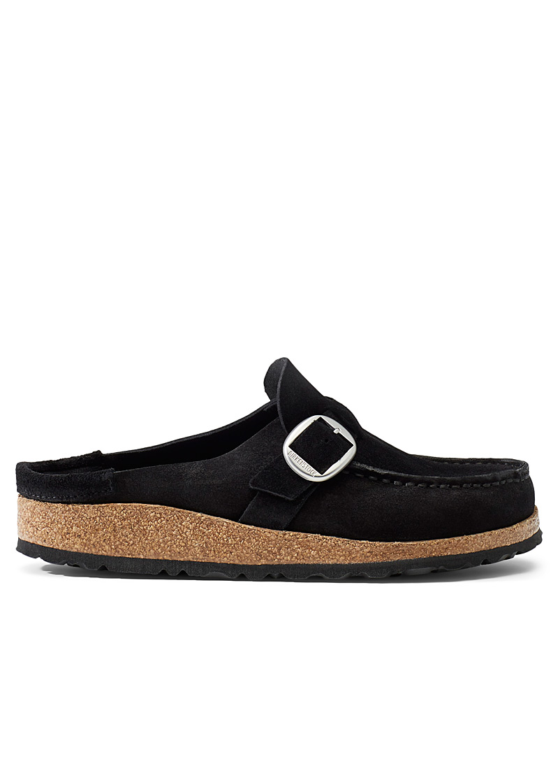 Birkenstock Black Buckley suede mules  Women for women
