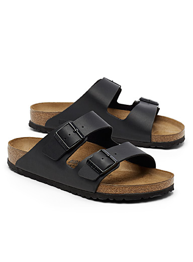 Birkenstock Black Arizona Birko-Flor sandals  Men for men