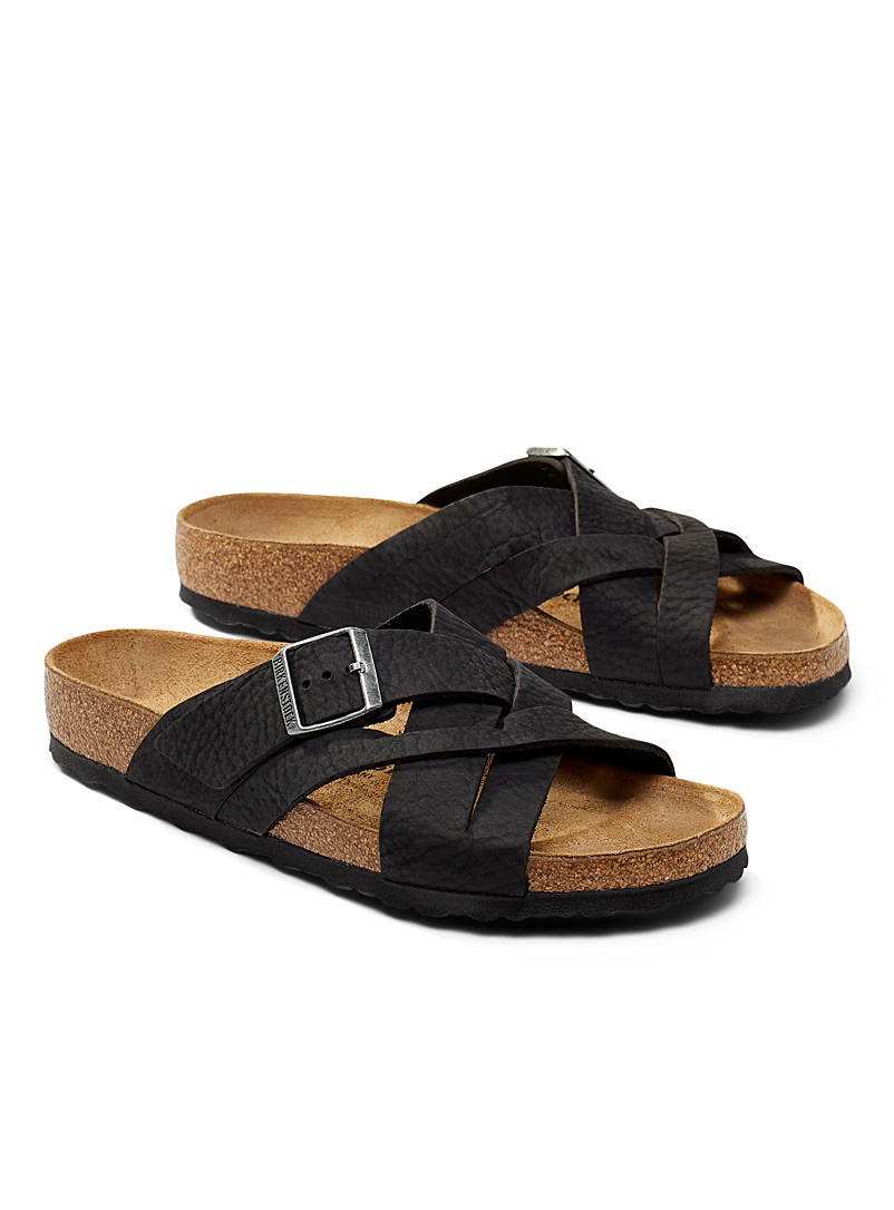 Birkenstock Black Lugano sandals Men for men