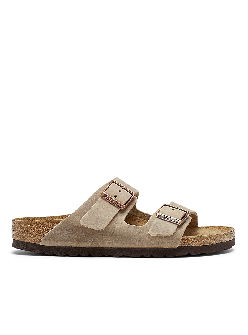 Taupe Arizona leather sandals Women