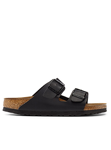 Black Birko-Flor Arizona sandals Women