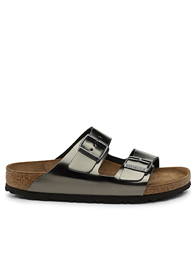 Metallic Arizona sandals <br>Women