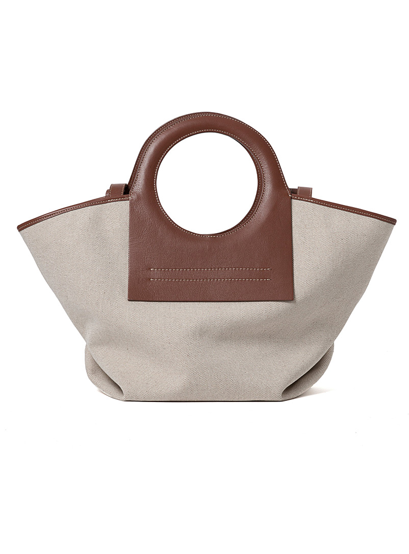 Hereu Light Brown Cala small tote for women