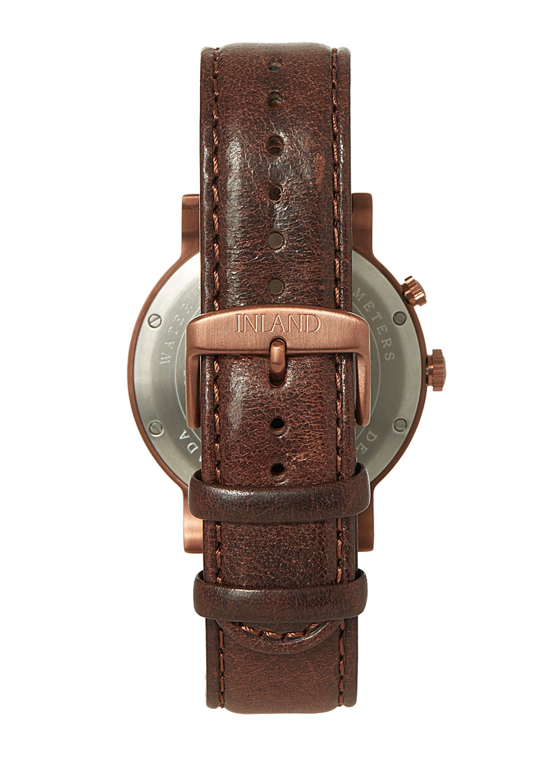 The August copper watch - Canadian Brands - Assorted brown