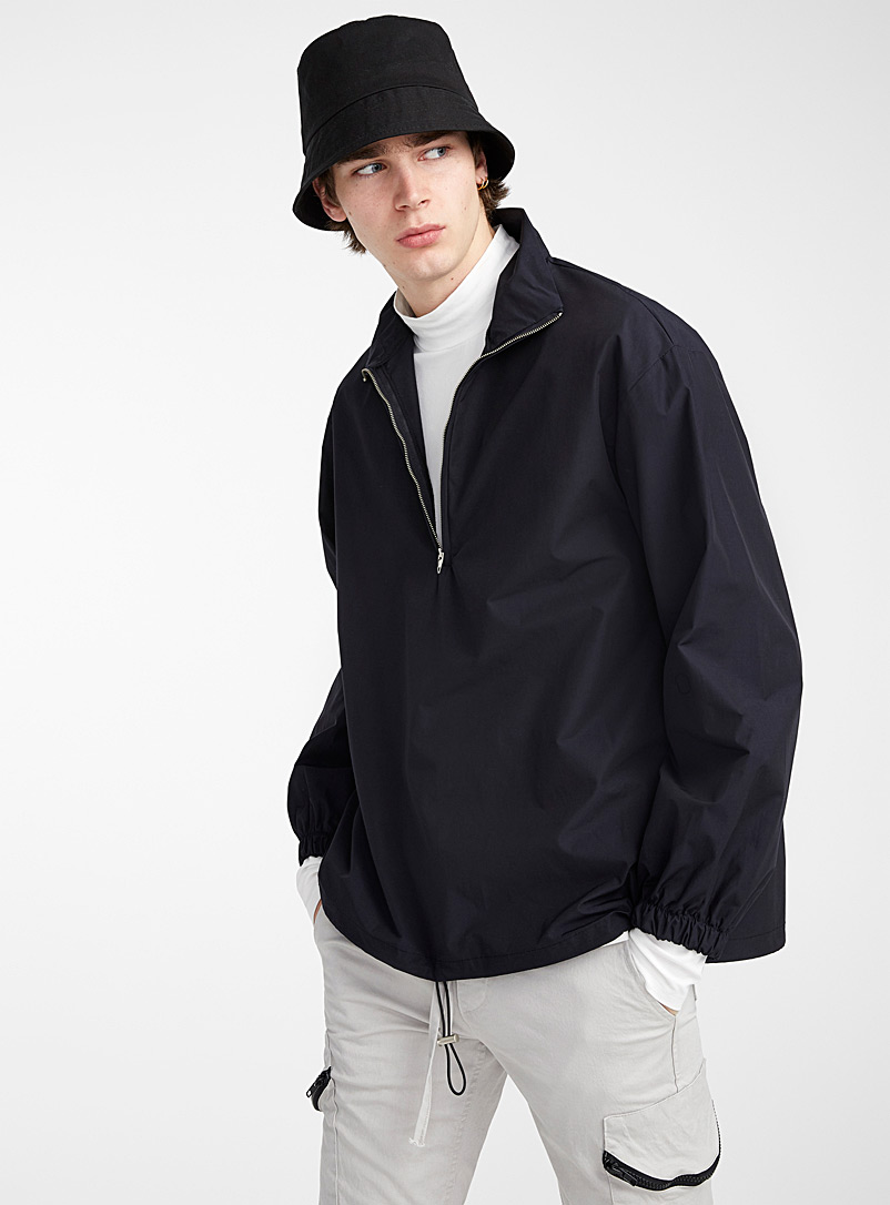 oversized-nylon-half-zip