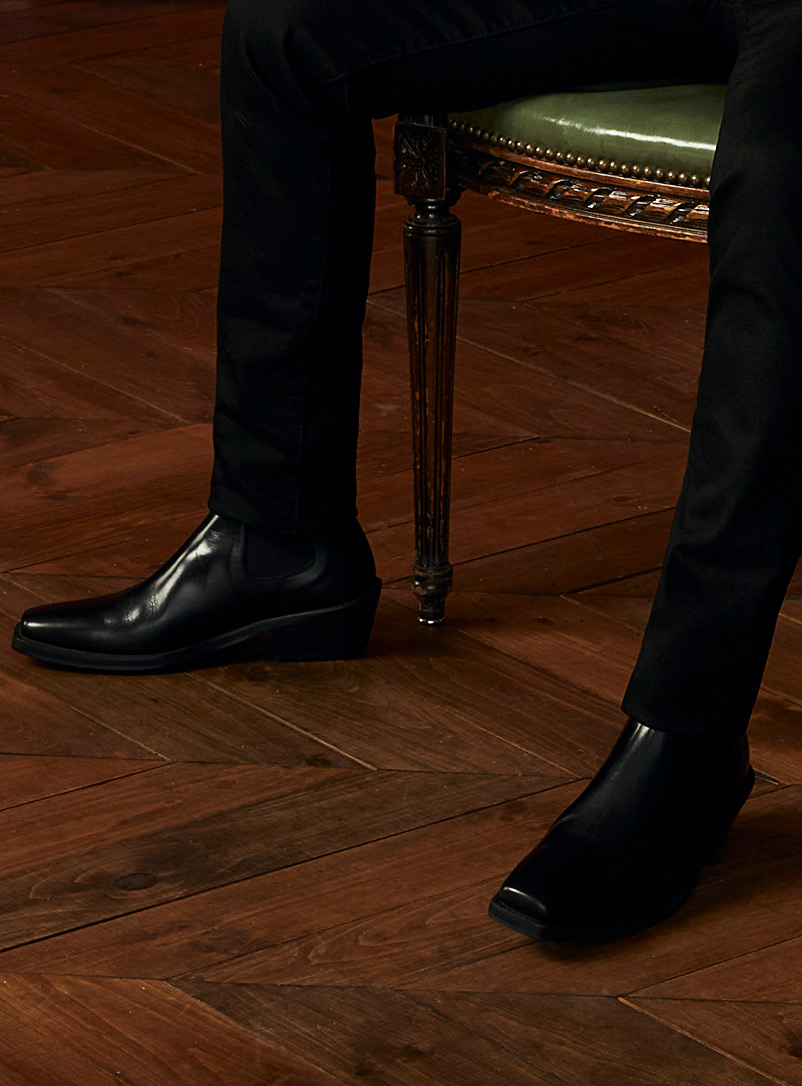 The Last Black Western-style boots for men