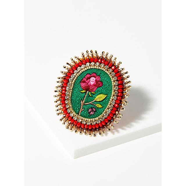 flower-brooch