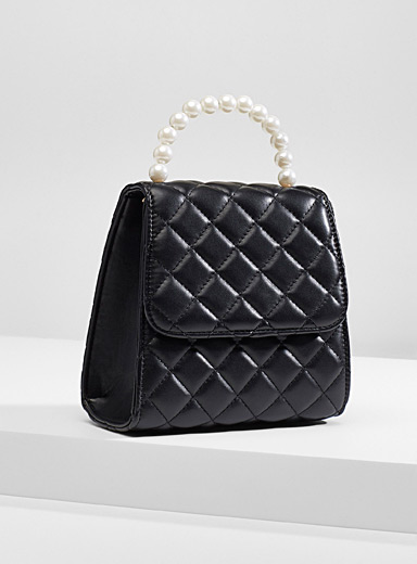 Quilted ladylike bag