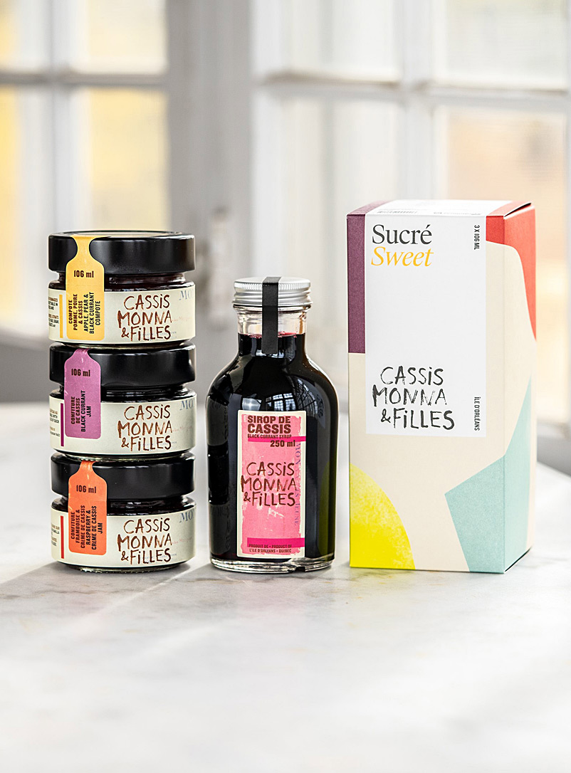 Cassis Monna & Filles Assorted Sweet trio set