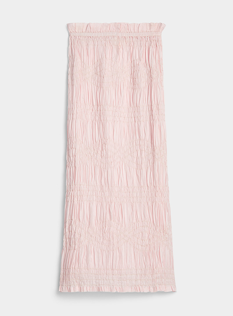 Mara Hoffman Dusky Pink Lana skirt for women