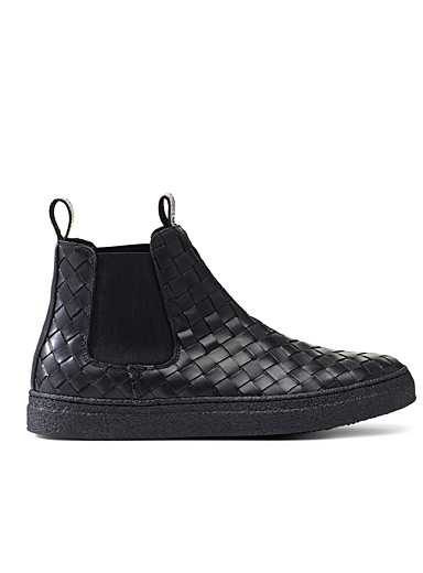 Braided Chelsea Circle boots  Men