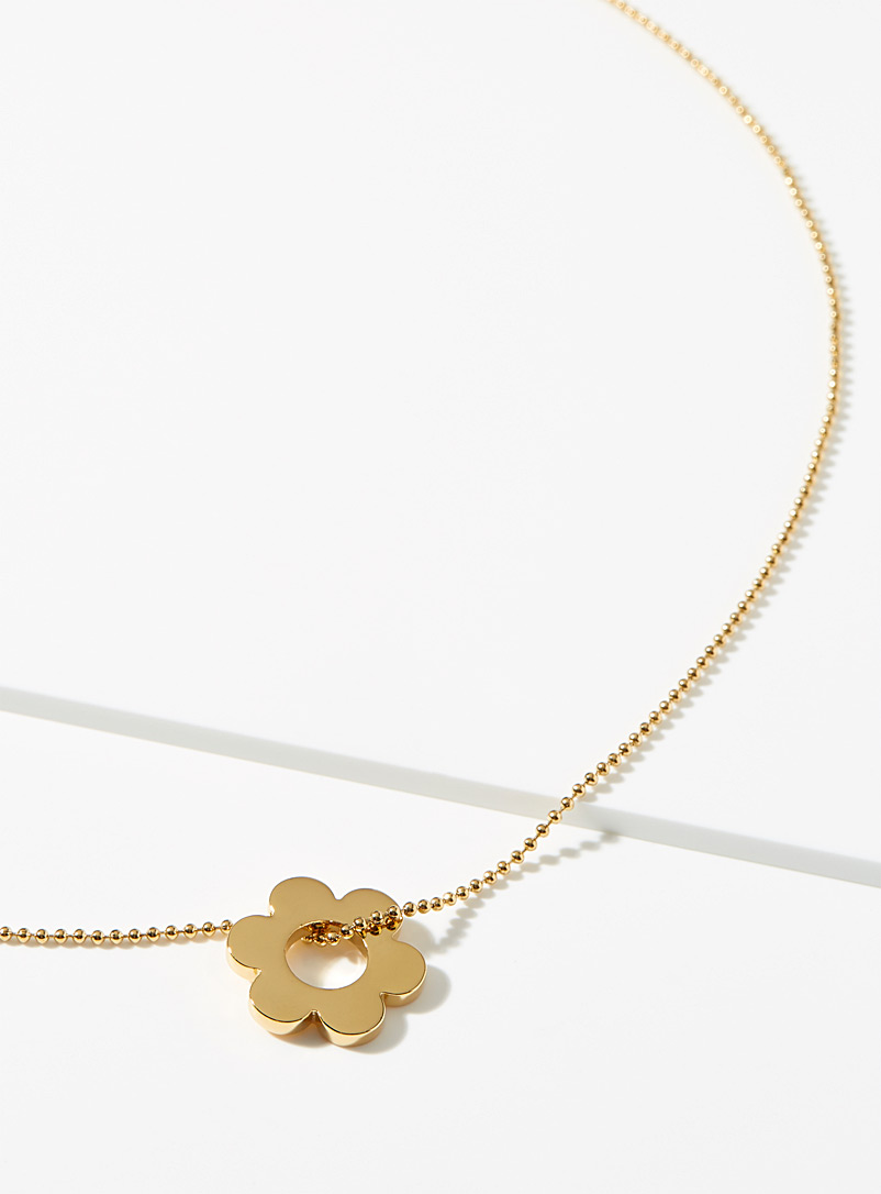 Sugar Blossom Gold Fleur necklace for women