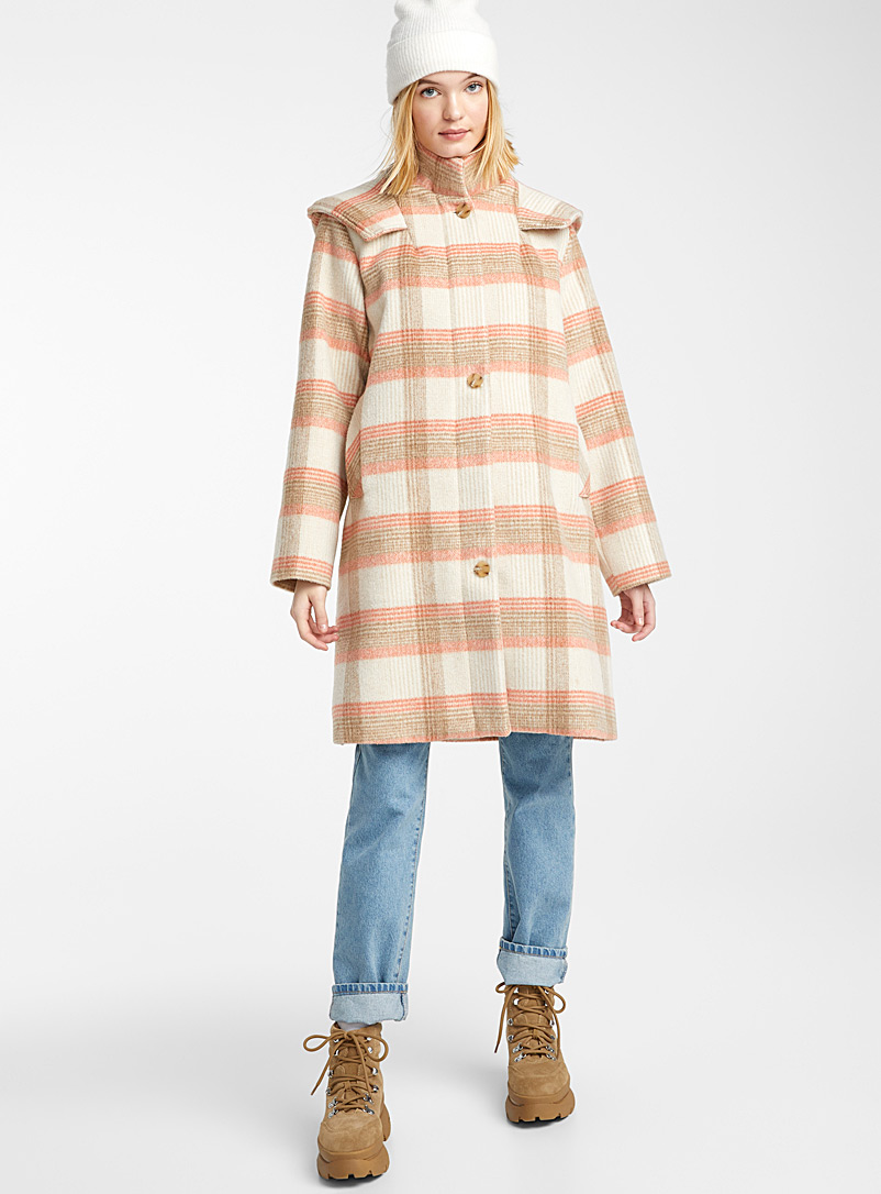 coral-check-hooded-coat