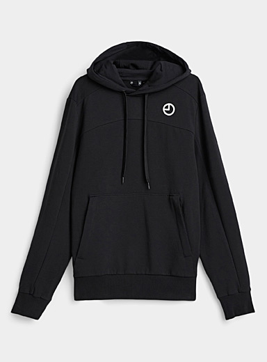 Graphic seaming hoodie