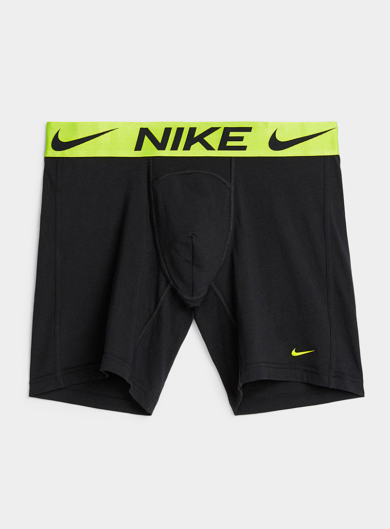 Nike Black Luxe boxer brief for men