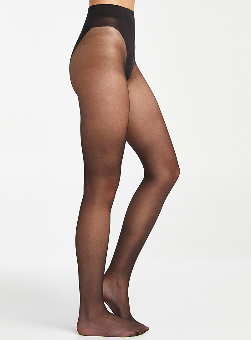 Built-in support sheer pantyhose
