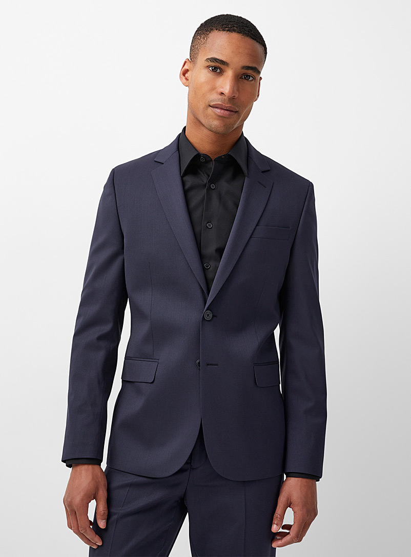 Innovation Marzotto wool jacket Stockholm fit - Slim