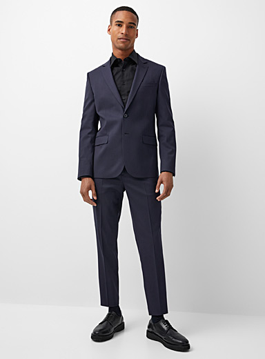 Innovation Marzotto wool pant Stockholm fit-Slim