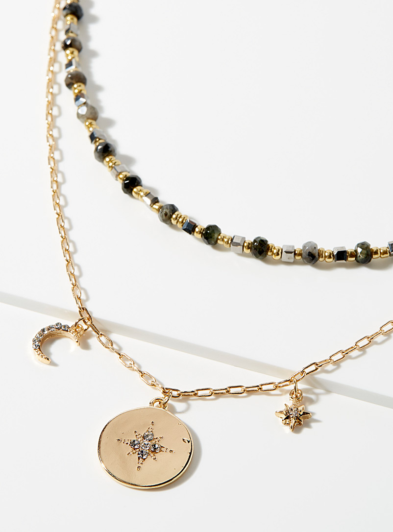 Simons Assorted Astral necklace for women