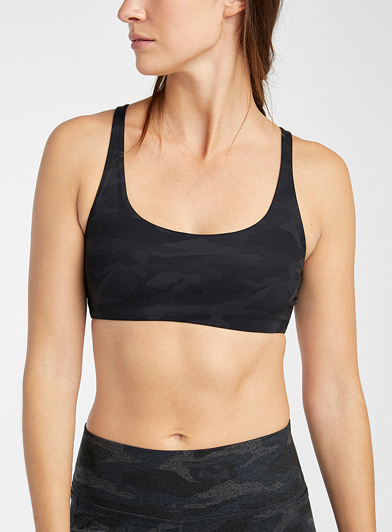 vuor1 Patterned Black Yosemite bra for women