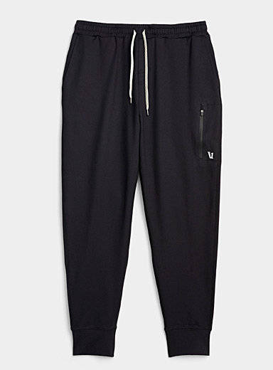 Vuori Black Sunday joggers for men