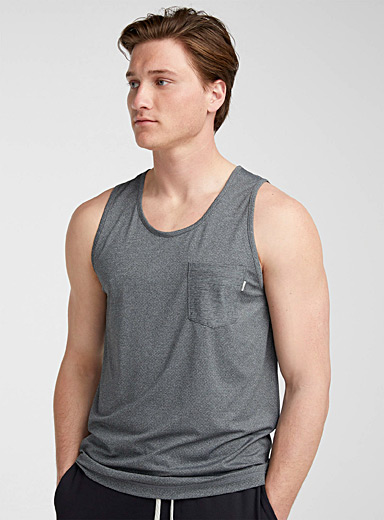 Tradewind breathable knit tank top