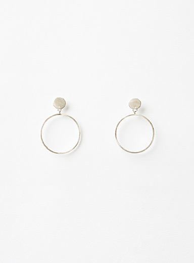 Dirty 925 M earrings