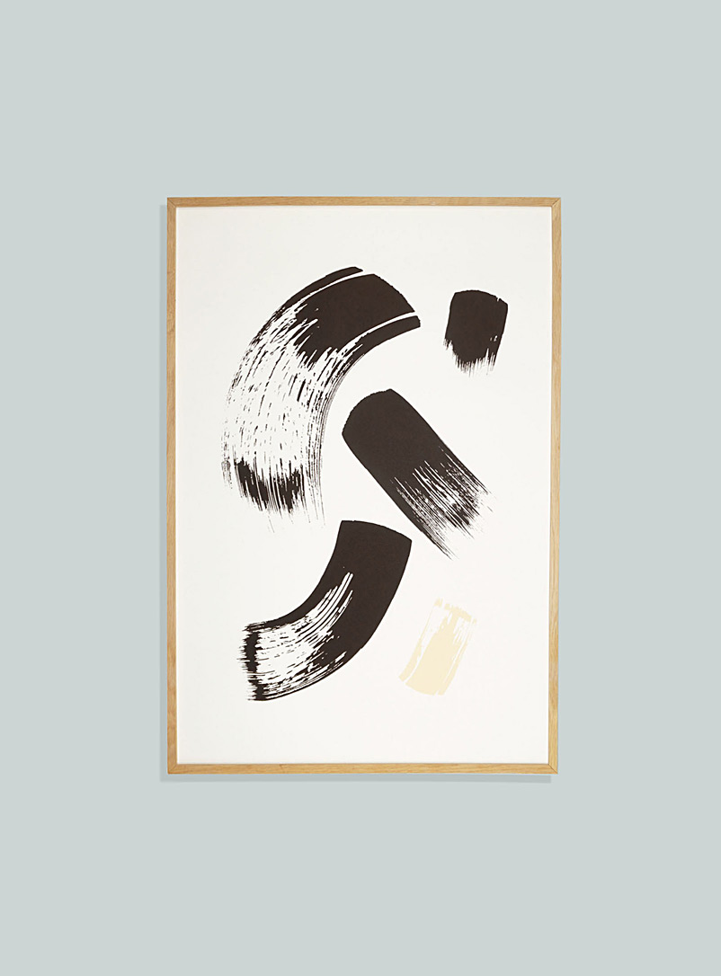 Annie Axtell Black Brush art print