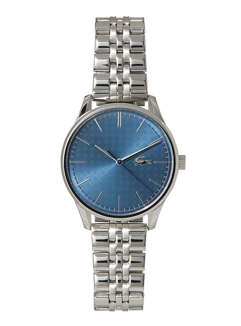 Deauville stainless steel watch