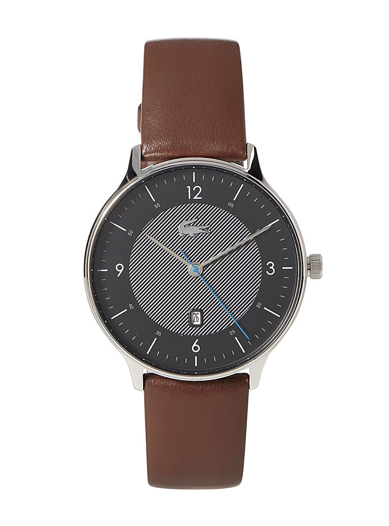 Lacoste Brown Club 3 watch for men